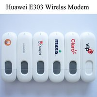 3g wireless modem - Mini Unlocked Huawei E303 Wirelss Modem WCDMA GSM Mbps G Mobile Broadband Wirelss Modem USB SIM Card Data Network Wireless Dongle
