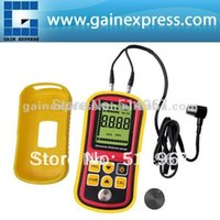 Wholesale Handheld Digital Ultrasonic Wave Velocity Thickness Meter Tester Gauge Metal and Non Metal mm Steel Range
