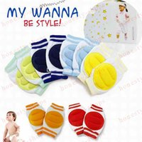 Wholesale Hot Sale Baby knee protection Kids Safety Crawling Elbow Cushion Infants Toddlers Baby Knee Pads Protector Baby Kneecap Gift Free DHL