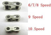 Wholesale 1 Pair Bike Chains mountain road bike bicycle chain Connector for Speed Quick Master Link Joint Chain bike parts