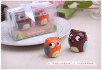 baby salt - Wedding favors and wedding gifts Baby shower Owl Always Love You Ceramic Salt and Pepper Shaker sets
