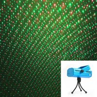 Wholesale Mini LED R G Laser Projector Stage Lighting Adjustment DJ Disco Party Club Black L014150