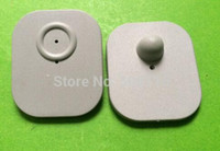 Wholesale 1000pcs EAS MHz Security grey Hard Tags with the pins big size
