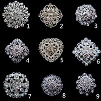 american indian belts - Luxury diamante drill brooches women wedding party Crystal Rhinestone alloy pins brooch charm jewelry hat scarf bag belt accessories gift