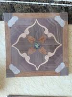 artistic wood flooring - Sapele wood floor flooring Medallion flooring Geothermal wood flooring Fight flowers floor Artistic wood flooring Private custom living room