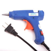 Wholesale High Temp Heater Hot Glue Gun W Handy Professional with Free Hot Melt Glue Sticks D mm S039