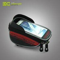 Wholesale Bacecamp Waterproof Cycling bike bag MTB Tube Front Frame Pannier Pouch Phone Case inch