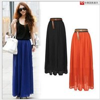 Cheap maxi skirt Best summer chiffon