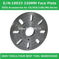 Wholesale Lathe Accessories S N MM Face Plate SIEG Accessories for C6 SC6 C6B M6 Series