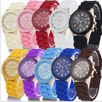 battery brands list - Hot sale New Fashion Designer Ladies sports brand silicone watch jelly watche new listing color choose