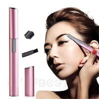 beauty trimmers - Hot Sales Women Lady Electric Shaver Legs Hair Eyebrow Trimmer Shaper Remover Razor Set Beauty T211