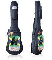 bass oxfords - SBB C Moonlight Sunspark GRAFFITI Noctilucence Electric Bass guitar Bag case Oxford thickening sponge Guitars bags