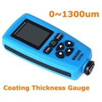 Wholesale Digital Paint Coating thickness gauge Meter um F mils um Resolution Graphical Menu USB Auto F FN Probe Tester