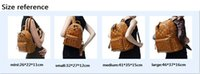 mcm bag - korean mcm leather backpack for Men Women sports backpack bags Punk Rivets Mcm backpacks Middle Small large Size for choice