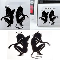 Wholesale Vinyl Car Vehicle Motorcycle Decoration Decal Sexy Girl Stickers Vogue