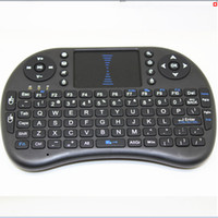 Wholesale Rii mini i8 Keyboard Air Mouse Remote Control Touchpad Handheld for TV BOX PC Laptop Tablet Raspberry PI Controller with Battery Included