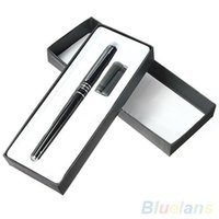 Wholesale Hero Alloy Fountain Pen Golden Plated Fine Nib Point Study Office Fountain Pens QB7 MD