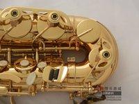 Wholesale Original Selmer E alto saxophone amp gold alto saxophone sax alto And Send metal flute mouth