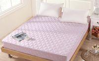 Wholesale Thick Mezzanine Pure cotton m breathable Mattress Protector Mattress Cover Mattress Pad H01