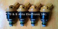 Wholesale 4pcs Japan Original High Performance cc Jecs Fuel Injectors A46 Yellow Fuel Nozzles For Nissan Sub ru