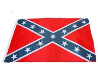 Wholesale wo Sides Printed Flag Confederate Rebel Civil War Flag National Polyester Flag X FT