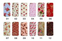 Wholesale DHL the latest fashion diversiform flowers mobile phone case for iphone4s s plus