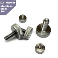 Wholesale DIN653 B Stainless steel Manufacture thumb bolt computer case thumb screw hand tighten bolts