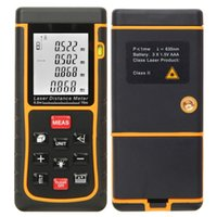 Wholesale New Trendy m RZ70 Laser Distance Meter Bubble Level Rangefinder Rang Finder Tape Measure Tool Area Volume Tester