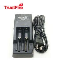 battery car voltage - Free DHL V V voltage TrustFire TR001 Lithium Battery Charger for Battery Car Charger EU US Plug
