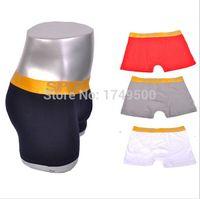 Wholesale N55334 Men Underwear Comfortable Cotton Men Boxer Men Underpants