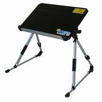 adjustable height portable table - folding aluminum alloy adjustable height laptop desk portable laptop table MOQ piece