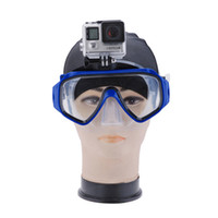 Wholesale New Arrival women men sports diving mask swimming goggles for outdoor sport gopro cameras Silicone Swimming Equipment Mask