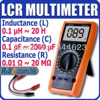Wholesale Professional LCR Inductance Capacitance Resistance Ohm LC Multimeter