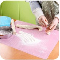 Wholesale Silicone Rolling Cut Mat Fondant Clay Pastry Icing Dough Cake Tool Sugarcraft