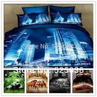 Cheap 6 PCS Free shipping -bedding set queen-bed sets and comforter-bedding set--bed linen 3d