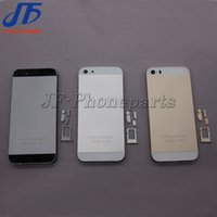 Wholesale 10pcs Full housing Back Battery Cover Middle Frame Back Housing For iphone S