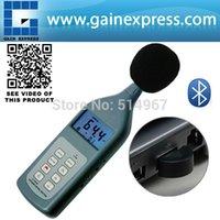Wholesale Professional Handheld Digital Wireless Sound Noise Level Meter Tester dB Range CD Software USB Bluetooth