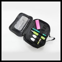 Wholesale Newset Double deck Vape Pocket Vapor UD case Tool Kit Bag clone for tanks Mods battery coils DIY Tools Carry Bag Promotion