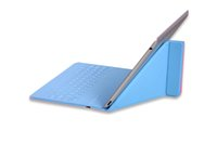 wireless silicone keyboard - Hot bluetooth silicone wireless keyboard with pu stand leather case For iPad DHL free