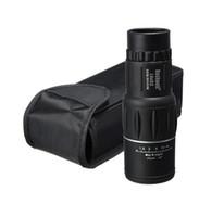 Cheap 50PCSFree shipping 2015 Telescope16x bifocal 16X52 Monocular Telescope Zoom 66M   8000MHD outdoor night vision spotting scope telescope