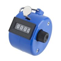 Wholesale New1pc Mini Sport Lap Golf Handheld Manual Digit Number Hand Tally Counter Clicker Drop Shipping