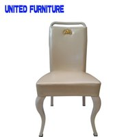 Wholesale High grade chairs modern stylish coffee shop chair luxury dining chair leather hotel chair Multi color optional
