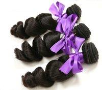 Cheveux brésiliens 8A Cheveux bruns de l'Extension de Cheveux de la Vierge remy Loose Vague 8-30 pouces expédition rapide
