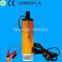 Wholesale Original V DC MINI Diesel Fuel Water Oil Car Camping fishing Submersible Transfer Pump order lt no track