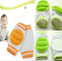 Wholesale Baby knee protection Kids Safety Crawling Elbow Cushion Infants Toddlers Baby Knee Pads Protector Leg Warmers Baby Kneecap Gift Free DHL