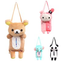 automobile bearing - 2015 Lovely Cute Rabbit Bear Elephant Panda Home Office Car Auto Automobile Tissue Boxes Cover Napkin Paper Towel Holders Cases