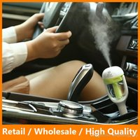 air filter supply - Mini Portable Car Use Air Humidifier Ultrasonic Essential Air Atomizer Diffuser Wave Air Filter Mist Maker Car Charger