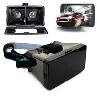 best dlp glasses - Best Price Black Universal Virtual Reality D Video Glasses for to inch Phones Google Cardboard Movie Cinema Convenient order lt no