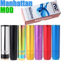 manhattan - Manhattan full Mechanical mod mod clone vs King Panzer Caravela Nemesis hawk Stingray maraxus AR hades X DNA ZNA E Cigarette mods
