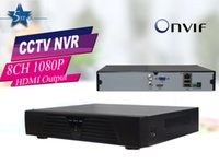 Wholesale 8 Channel H Recording Full P NVR HDMI CCTV Standalone NVR ONVIF Cloud network Mobile Phone monitor